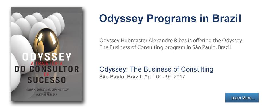 Alexandre Ribas - Odyssey Programs in Brazil