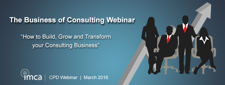 PDF cover - The Business of Consulting Introduction Webinar