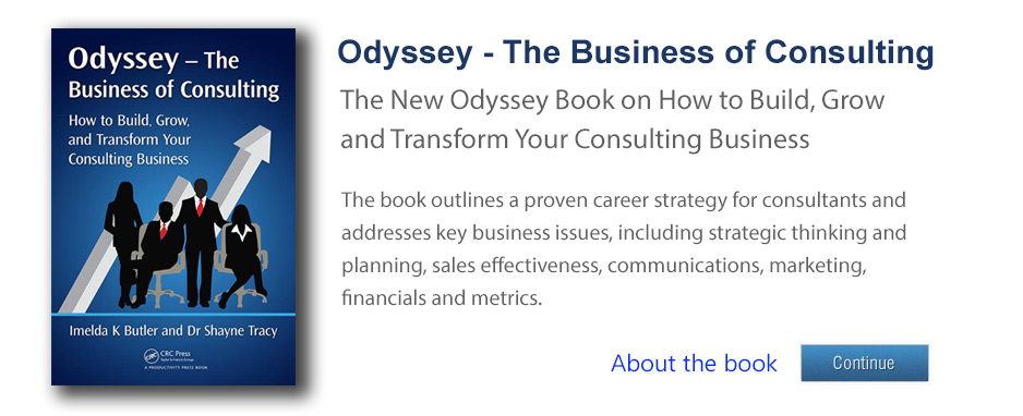 Odyssey The Business of Consulting book banner